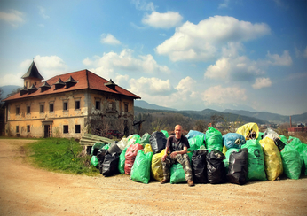 Slovenian clean-up. Photo by Matej Golob